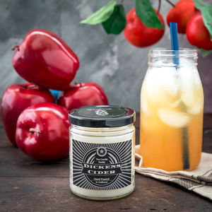 Dickens Cider- Funny Apple Cider Candle- 6 Ounce
